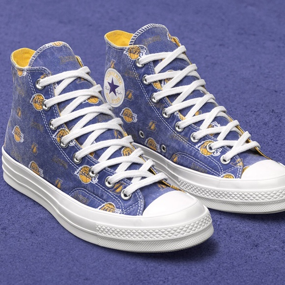 3f145403988d75 Converse High Tops Chuck 70 NBA X LA LAKERS. M 5af8898e45b30c50ef7cbf60